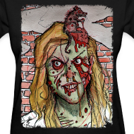 Design ~ womens - zombie rat head