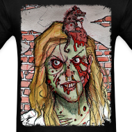 Design ~ mens - zombie rat head