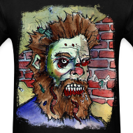 Design ~ mens living dead beard zombie