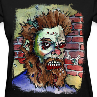 Design ~ womens living dead beard zombie