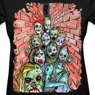 Design ~ womens back alley zombie horde