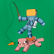Design ~ Kid's T-Shirt: Carrot on a Stick