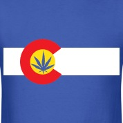 Colorado Marijuana Flag T-Shirt