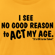 Design ~ George Takei says It's OK to be Takei! with this Men's T
