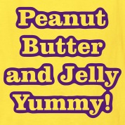 yummy_pbj1 Kids' Shirts