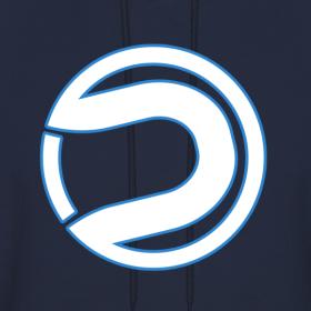 Design   Dare Logo Clean Hoodie Darerising Logo