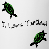 Design ~ I Love Turtles Mug