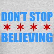 Design ~ Don't Stop Believing Flag