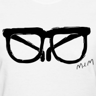 Design ~ Animals Glasses T-shirt (Women)