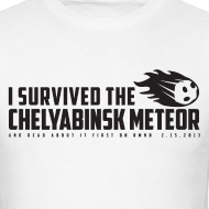 Design ~ I Survived The Chelyabinsk Meteor Men's T-Shirt