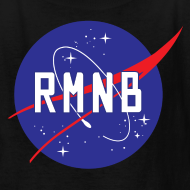 Design ~ RMNB Space Logo Kid's T-Shirt