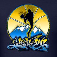 Design ~ Denver - Blue and Yellow - Mens