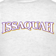 Design ~ ISSAQUAH - white, purple and gold