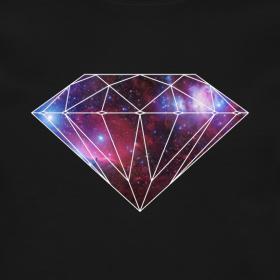 galaxy diamond sweatshirt by skytop skytop clothing co