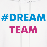 Design ~ Ali Brustofski #DREAMTEAM Men's Hoodie