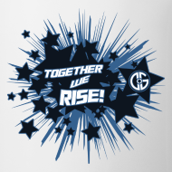 Design ~ Together to we Rise Stars Mug