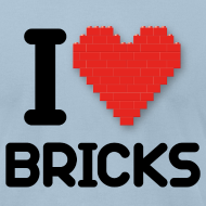Design ~ I love Bricks (dd print)