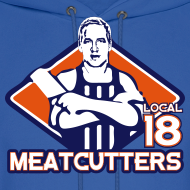 Design ~ Meatcutters Local 18 2.1 - Hoodie