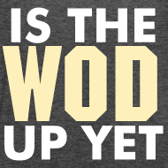 Design ~ Is The Wod Up Yet Tank