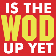 Design ~ Is The Wod Up Yet Shirt