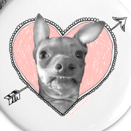 Design ~ Tuna Heart Buttons
