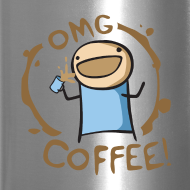 Design ~ OMG COFFEE! Travel Mug