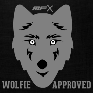 Design ~ MFX - Wolfie Approved - Bandanna Of The Wolf
