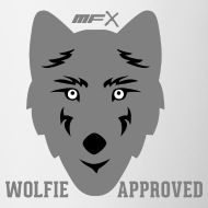 Design ~ MFX - Wolfie Approved - Mug