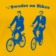 Design ~ Swedes On Bikes Women's T-Shirt