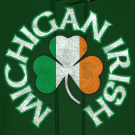 Design ~ Michigan Irish Shamrock Flag