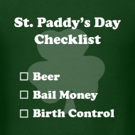 Design ~ St. Paddy's Day Checklist