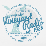 Design ~ Vineyard Radio - unisex - left breast