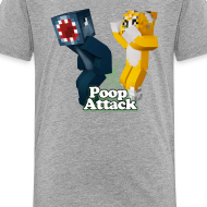 Design ~ Poop Attack - Kid's Premium