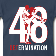 Design ~ DETermination - Men's Navy Tee
