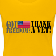 Design ~ Thank A Vet- Women's