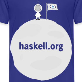 Design ~ Haskell.org Moon Large