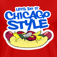 Design ~ Chicago Style Hot Dog
