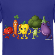 Design ~ Toddler Veggie Rainbow T-Shirt