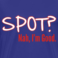 Design ~ Spot? Shirt, Black