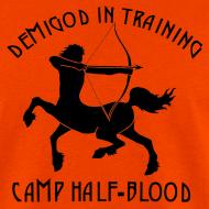 Design ~ DEMIGOD IN TRAINING Centaur Men's T-Shirt