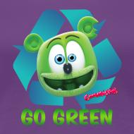 Design ~ Gummibär Recycle Earth Day Women's T-Shirt