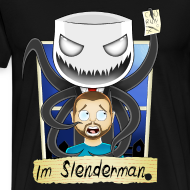 Design ~ Chilled is Slenderman (Heavy T-Shirt)