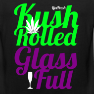 Design ~ Kush Rolled Glass Full Tank