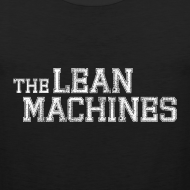 Design ~ The Lean Machines Tank Top Mens - Black