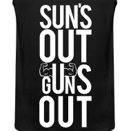 Design ~ Suns out guns out | Mens tank