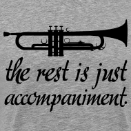 Design ~ Trumpet Music Band T-shirt (funny trumpet)