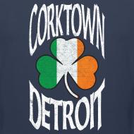 Design ~ Corktown Detroit Shamrock Irish Flag