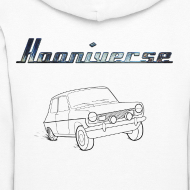 Design ~ Hooniverse Hoodie with Round Logo... for the ladies
