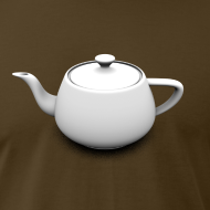 Design ~ Utah Teapot - American Apparel T-Shirt