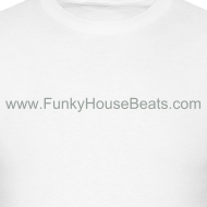 Design ~ FunkyHouseBeats Lightweight cotton T-Shirt